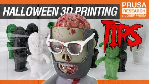 Halloween 3D Printing Tips!