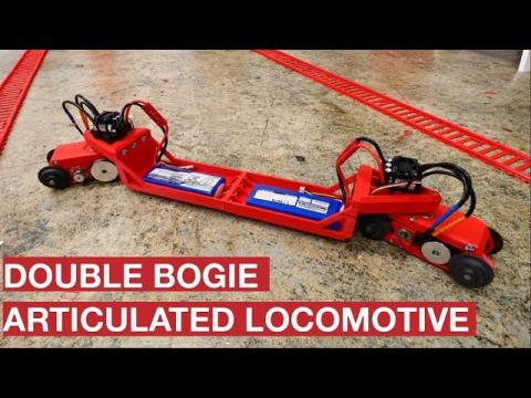 DOUBLE BOGIE ARTICULATED LOCOMOTIVE
