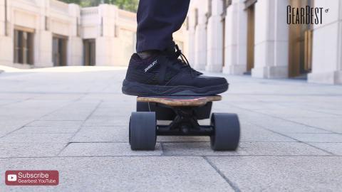 Landwheel L3 - A Brushless Motors 4-wheel Electric Skateboard - Gearbest.com