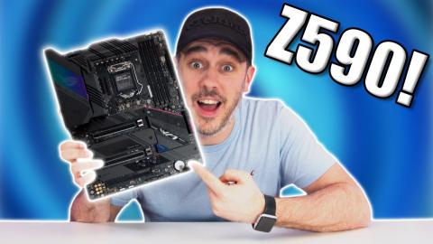 ASUS ROG STRIX Z590-E Gaming WiFi HANDS ON!
