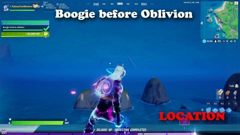 Boogie before Oblivion - LOCATION