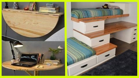 Ingenious Furniture Ideas For Your Small Apartment