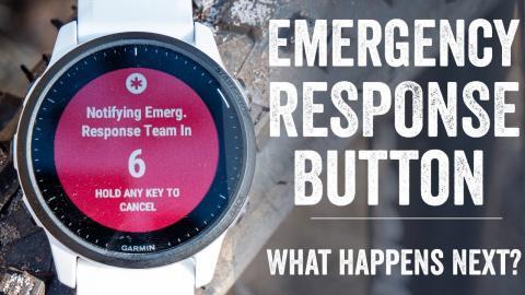 Explainer: How does Garmin's LTE Watch Emergency Button Work?