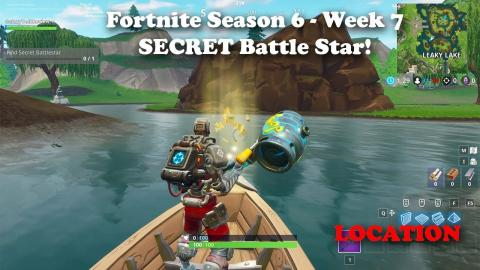 Fortnite - Season 6 - Week 7 - Secret Battle Star LOCATION and Loading Screen