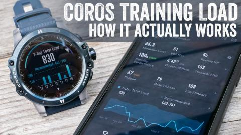 An Explainer: COROS's New Training Load & Running Metrics (EVOLAB)