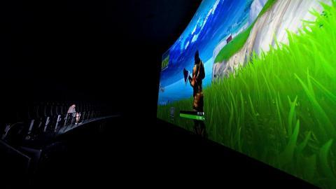 World's Biggest Fortnite Setup - IMAX Edition