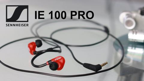 Sennheiser IE100 Pro Monitor Headphones for Musicians, DJ's, Producers and Performers