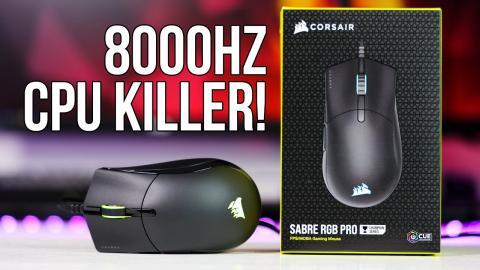 Corsair Sabre RGB Pro - the 8000Hz £50 mouse