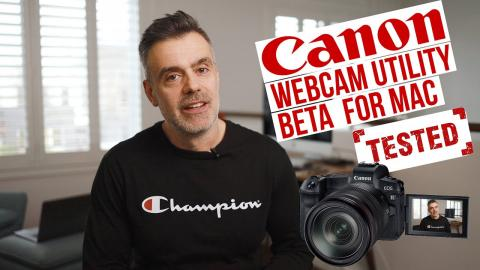 Canon EOS Webcam Utility for Mac now in Beta - But does it work?