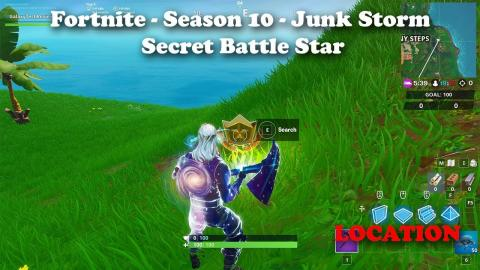 Fortnite - Season 10 - Junk Storm - Secret Battle Star LOCATION