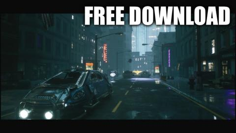 City 16 (Free Download / Speed Level Design / Unreal Engine 4)