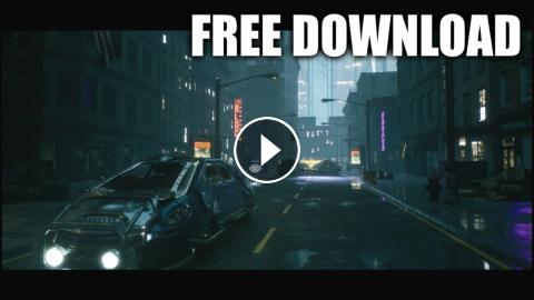 City 16 (Free Download / Speed Level Design / Unreal Engine 4)