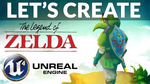 Character Setup - #1 Let's Create Legends Of Zelda (Unreal Engine 4)