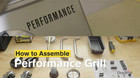 How to Assemble the Performance Series™ Gas Grill | Char-Broil®