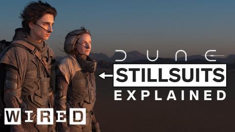 Dune Costume Designers Break Down Dune's Stillsuits   WIRED