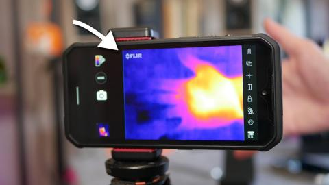 This Smartphone makes HEAT VISIBLE (Ulefone Armor 9 Review with FLIR Thermal Camera)