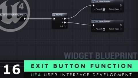 Loading Level From UI - #9 Unreal Engine 4 User Interface