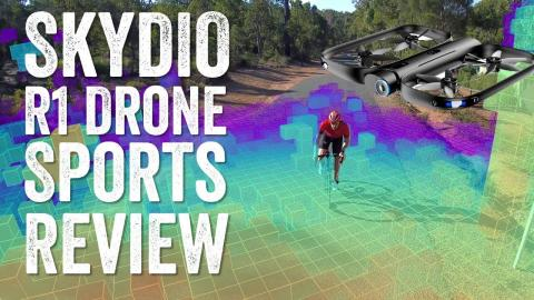 The Best Drone For Sports? Skydio R1 In-Depth Review