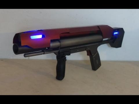 Star Trek Discovery inspired Laser SMG DEMO
