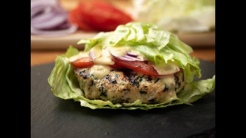 Whole 30 Chicken Burger Recipe | Char-Broil®