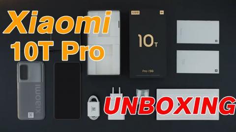 Xiaomi 10T Pro Unboxing