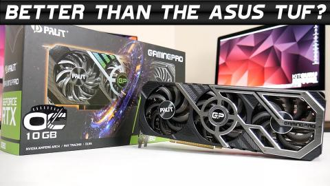 Palit RTX 3080 GamingPro OC Review - can it stand out from the crowd?