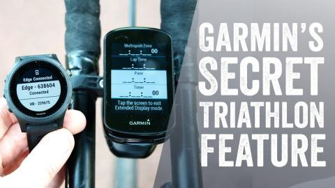 Garmin Triathlon Display Mode How-To // aka Extended Display Mode