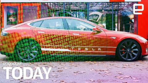Tesla Model S stolen by thieves hacking the keyfob | Engadget Today