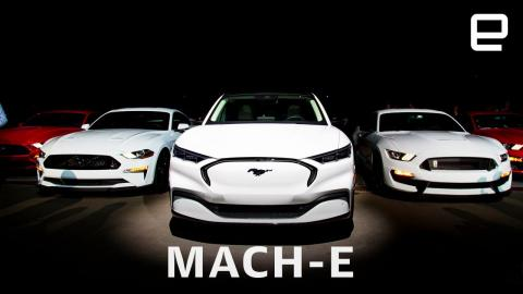 Ford's Mustang Mach-E straddles the world of EVs, SUVs and muscle cars