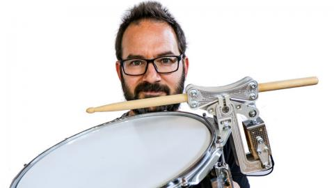 ROBOTIC SNARE DRUM (self playing)