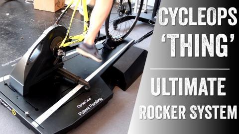 CycleOps Ultimate Trainer Rocker Platform: Tech Details