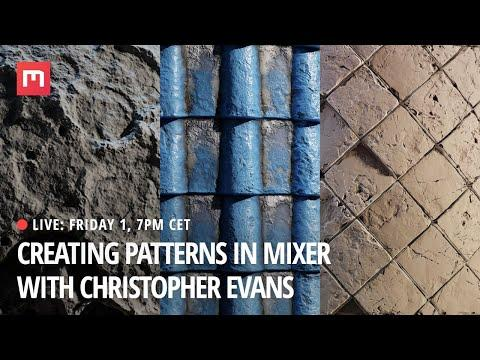 Creating Patterns in Mixer - Christopher Evans