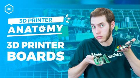 The Anatomy of a 3D Printer // Controller Boards