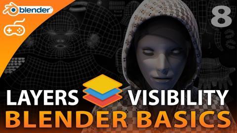 Layers & Visibility - #8 Blender Beginner Modelling Tutorial Series