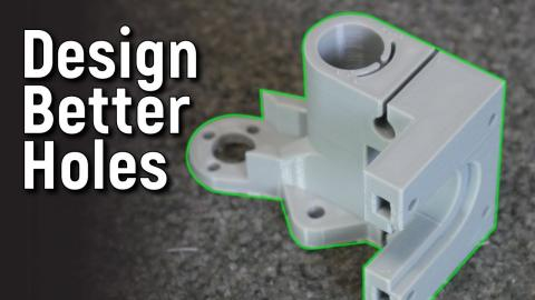 3 Design Tips for Better 3D Printed Holes - CAD For Newbies