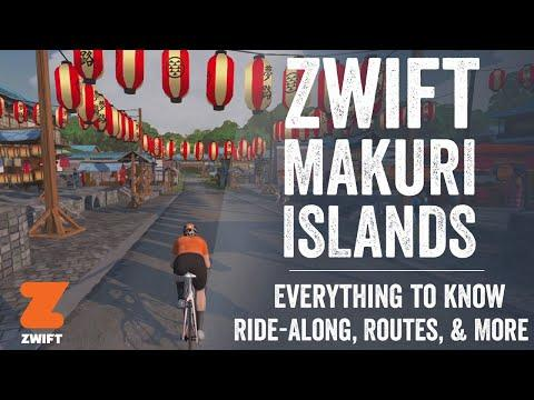 Zwift Makuri Islands: Everything you need to know!