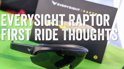 First Ride: Everysight Raptor Heads-Up Display