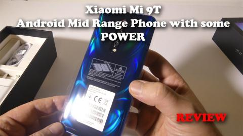 Xiaomi Mi 9T / Redmi K20 - Mid Range Smartphone with POWER - Review