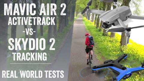DJI Mavic Air 2 Active Track vs Skydio 2: Tested & Footage!
