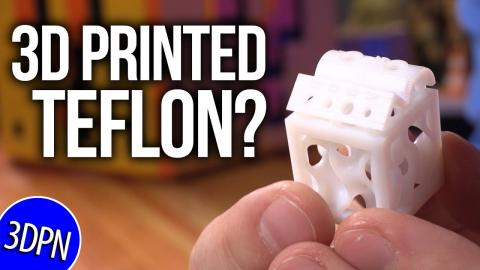 3M is 3D PRINTING TEFLON? // Fan Mail Friday!