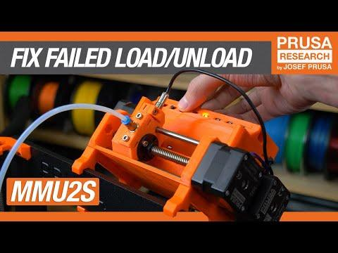 """""""MMU needs attention"""" - How to fix a failed load/unload"""