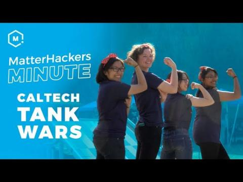 MatterHackers Minute // 3D Printing at CalTech for Tank Wars!