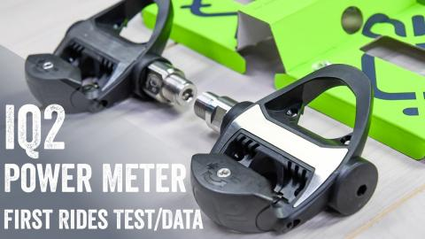 IQ2 Power Meter: Finally. Unboxing/Install/First Ride Data