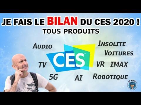 Je Fais le BILAN du CES 2020 (Audio, 5G, Robots, IMAX, VR...)