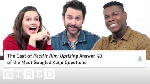 Pacific Rim: Uprising Cast Answer 50 of the Most Googled Kaiju Questions | WIRED