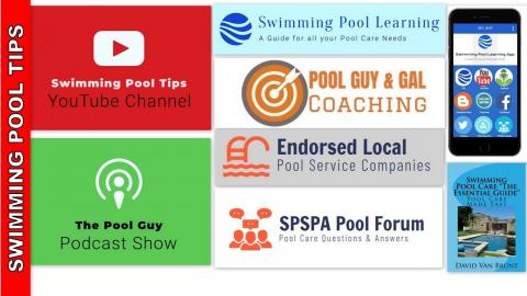Resources for your Pool Care Needs for the 2019 Pool Season!