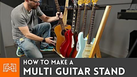 How to Make a Multi Guitar Stand