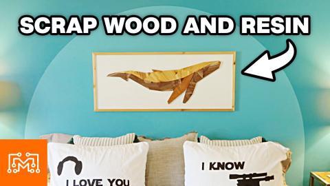 Wall Art From Scrap Wood & Resin | I Like To Make Stuff