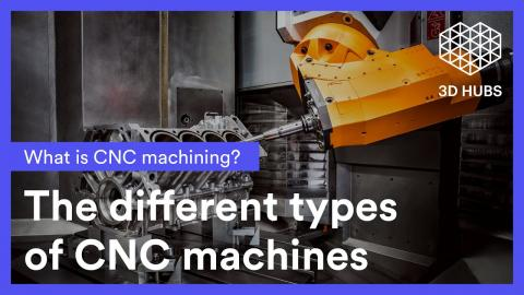 CNC machines - the types of CNC machines explained (3 and 5 axis)