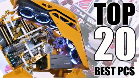 TOP 20 BEST Custom Water Cooled Gaming PC Builds of 2018 OVER $100000